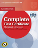 Promocja(s): Complete First Certificate Workbook (zeszyt �wicze�) with Answers and Audio CD